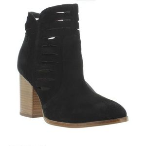 Seychelles Lets Go Crazy Suede Heeled Booties